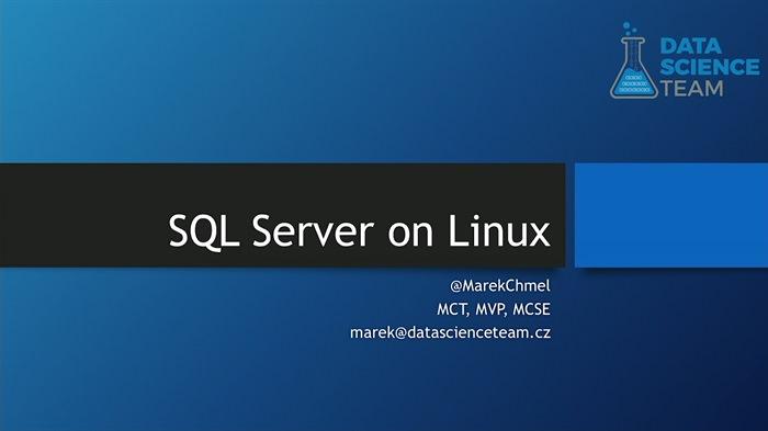Microsoft SQL Server na Linuxu