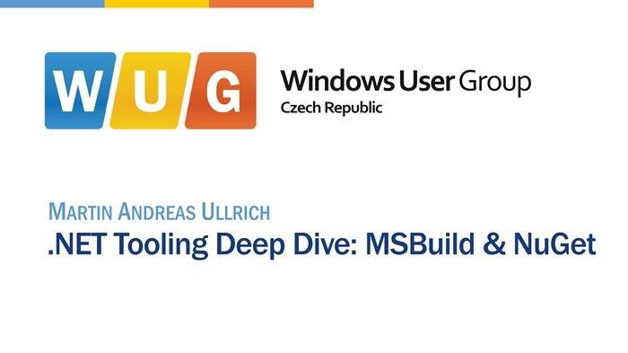 .NET Tooling Deep Dive: MSBuild & NuGet