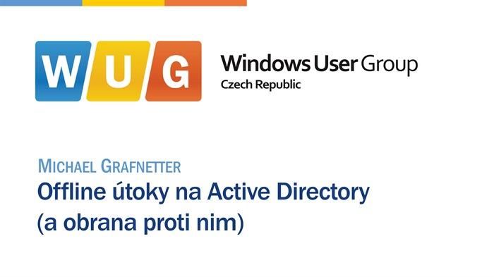Offline útoky na Active Directory (a obrana proti nim)