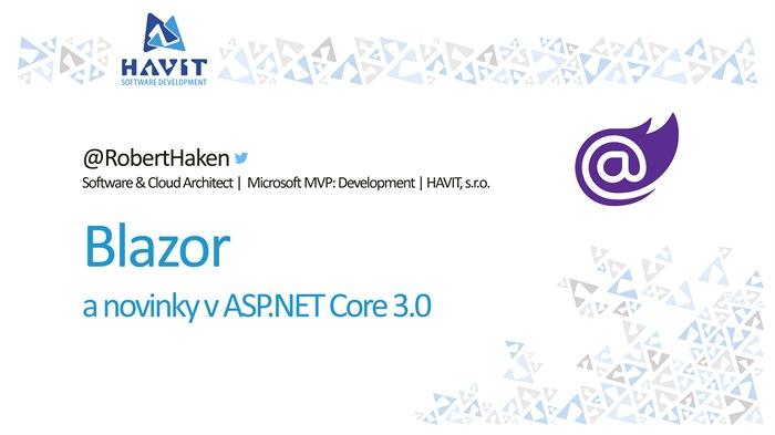 Blazor a novinky v ASP.NET Core 3.0