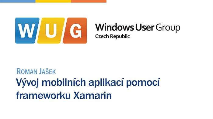 Vývoj mobilních aplikací pomocí frameworku Xamarin