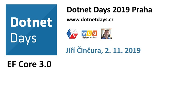 Dotnet Days 2019: EF Core 3.0