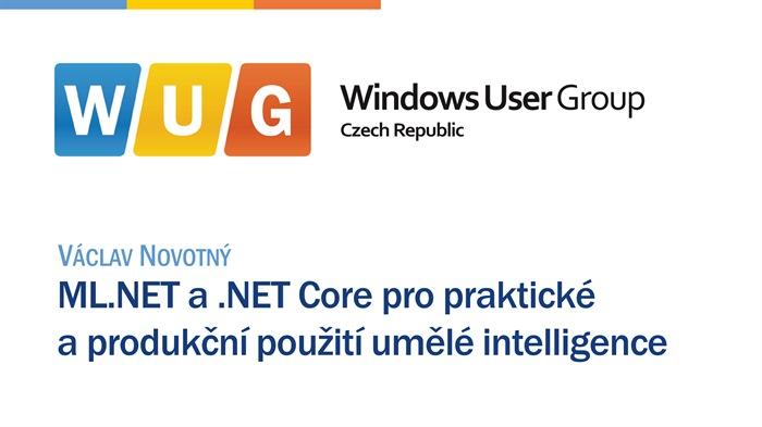ML.NET a .NET Core pro praktické a produkční použití umělé intelligence
