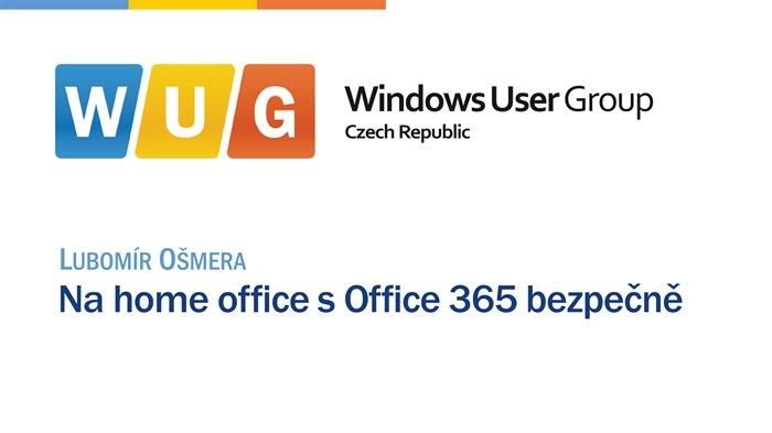 Na home office s Office 365 bezpečně