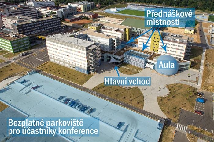 Plán okolí fakulty